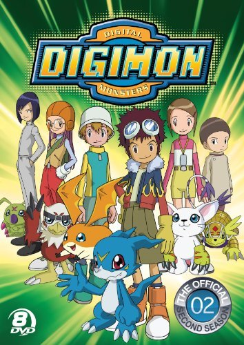 Official Digimon Adventures Season 2 Nr