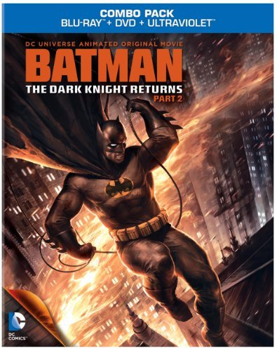 Batman Dark Knight Returns Pt. 2 Blu Ray Ws Pg13 Incl. Uv