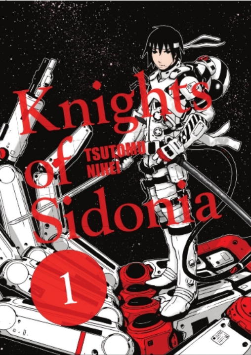 Tsutomu Nihei Knights Of Sidonia Volume 1