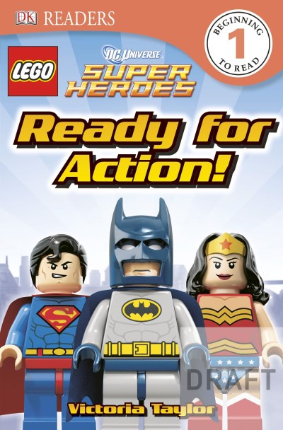 Dk Publishing Dk Readers Lego Dc Super Heroes Ready For Action!