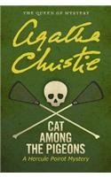 Agatha Christie Cat Among The Pigeons A Hercule Poirot Mystery Large Print