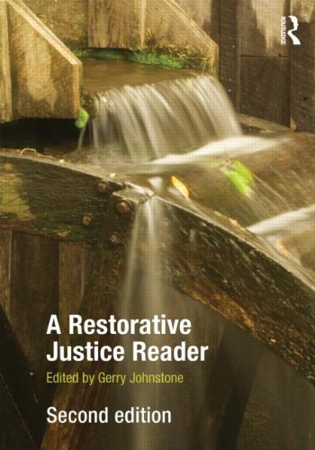 Gerry Johnstone A Restorative Justice Reader 0002 Edition;
