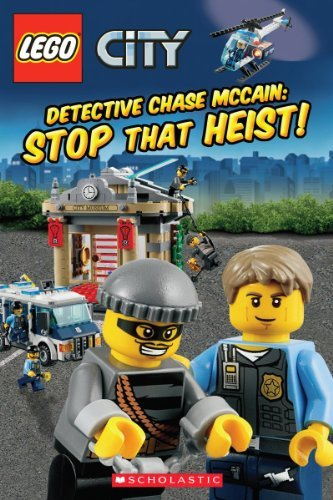 Trey King Lego City Detective Chase Mccain Stop That Heist!