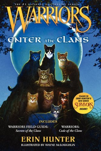 Erin L. Hunter Warriors Enter The Clans Includes Warriors Field Guide S