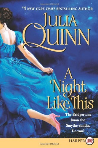 Julia Quinn Night Like This A Lp Large Print