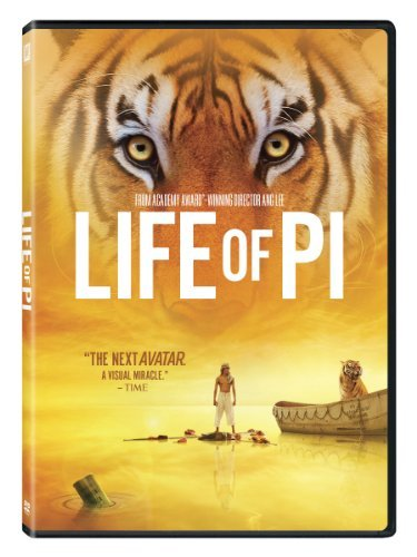 Life Of Pi Sharma Khan Hussain DVD Pg Ws