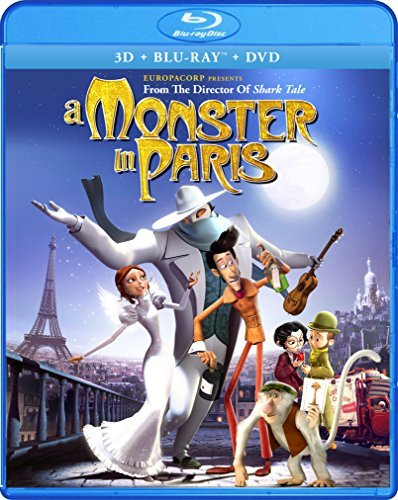 Monster In Paris 3d 2d Monster In Paris Nr Incl. DVD