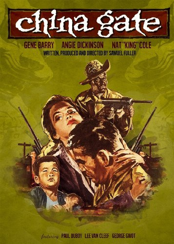 China Gate (1957) Barry Dickinson Cole Bw Aws Nr