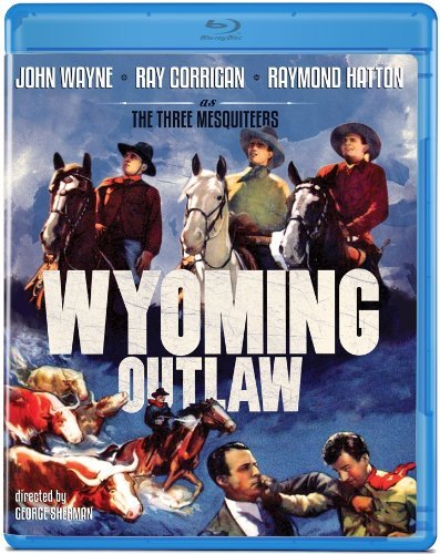 Wyoming Outlaw (1939) Wayne Corigan Hatton Blu Ray Ws Bw Nr