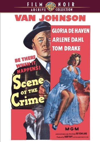 Scene Of The Crime (1949) Johnson Dehaven Dahl Made On Demand Nr