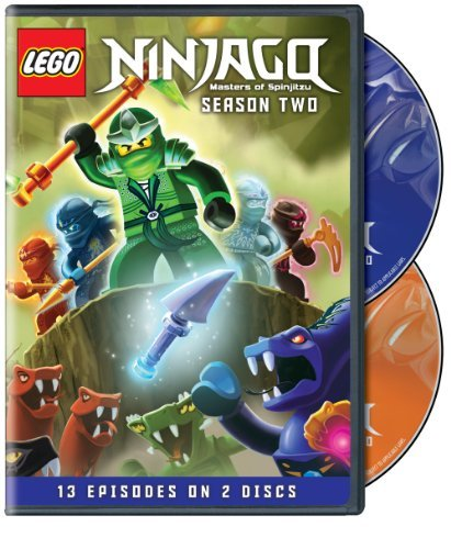 Lego Ninjago Masters Of Spinj Lego Ninjago Masters Of Spinj Season 2 Nr 2 DVD