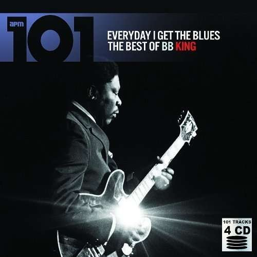 B.B King 101 Everyday I Have The Blues Import Gbr 4 CD