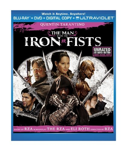 Man With The Iron Fists Crowe Liu Blu Ray Ws R Incl. DVD Dc
