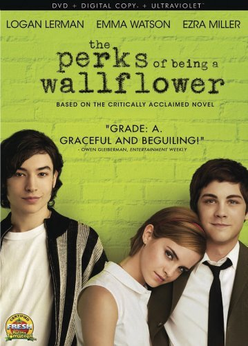 Perks Of Being A Wallflower Lerman Watson Miller DVD Dc Uv Pg13 Ws