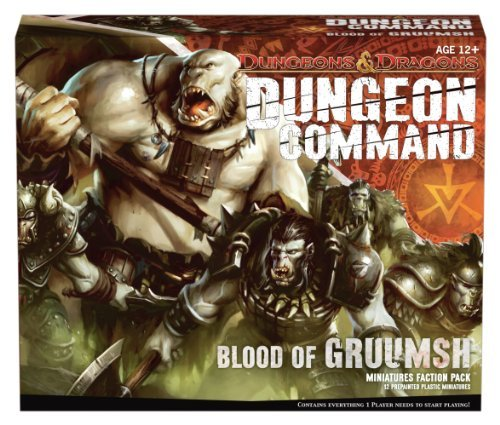 Wizards Rpg Team Dungeon Command Blood Of Gruumsh A Dungeons & Dragons Expansion