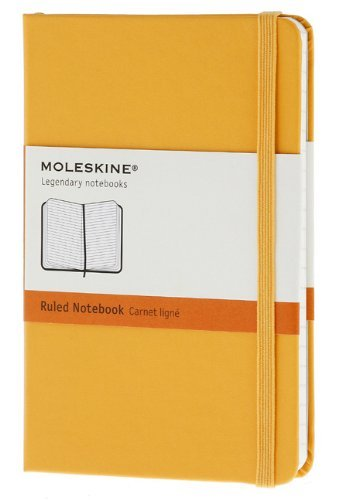 Moleskine Moleskine Classic Notebook Pocket Ruled Orange
