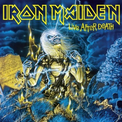 Iron Maiden Live After Death 2 Lp