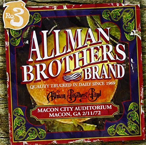 Allman Brothers Band Macon City Auditorium 2 11 72