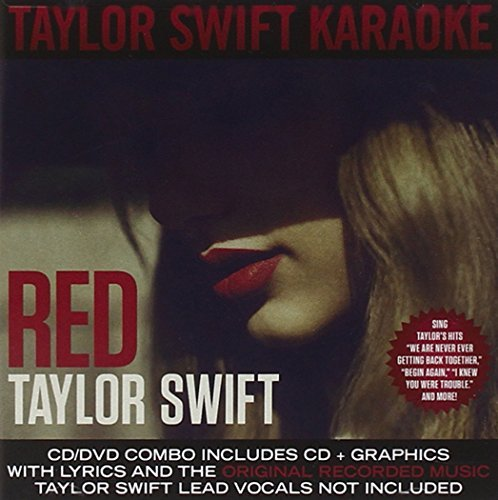 Taylor Swift Red Karaoke Cd+g Incl. DVD