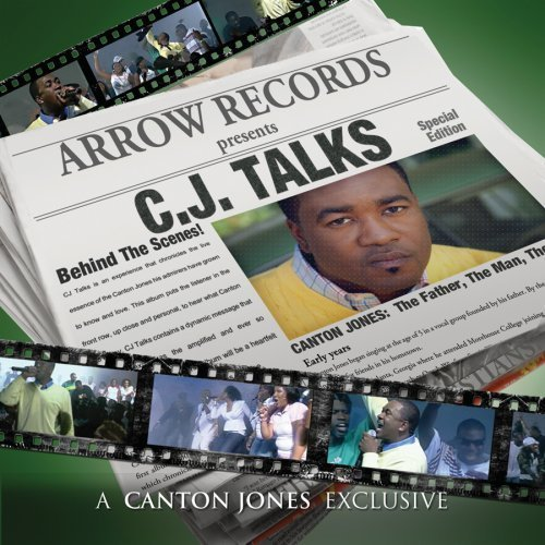 Canton Jones Cj Talks Incl. DVD