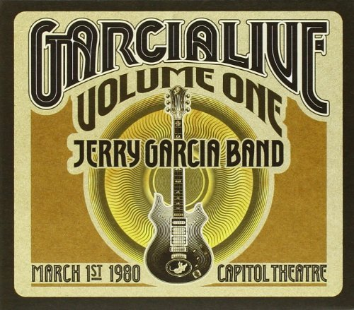 Jerry Band Garcia Vol. 1 Garcialive Capitol The 3 CD