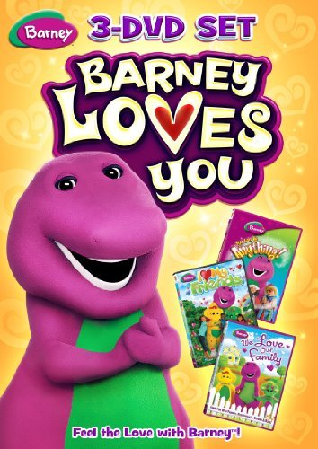 Barney Barney Loves You Ws Fs Nr 3 DVD