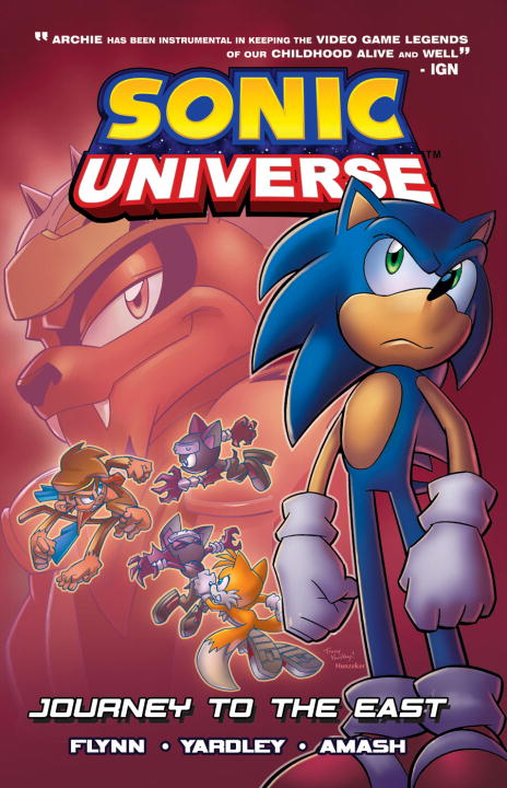 Sonic Scribes Sonic Universe 4 Journey To The East