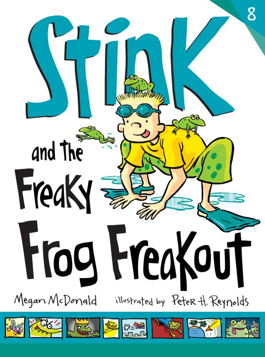Megan Mcdonald Stink And The Freaky Frog Freakout (book #8)