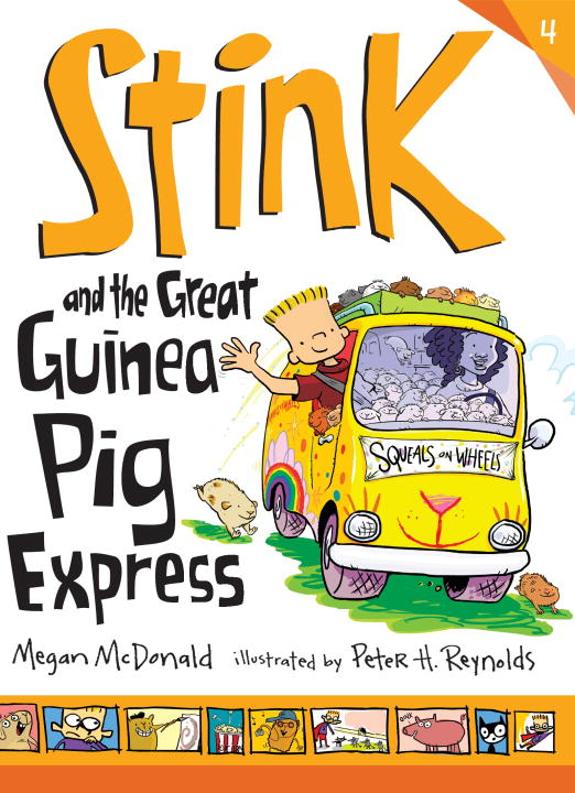 Megan Mcdonald Stink And The Great Guinea Pig Express