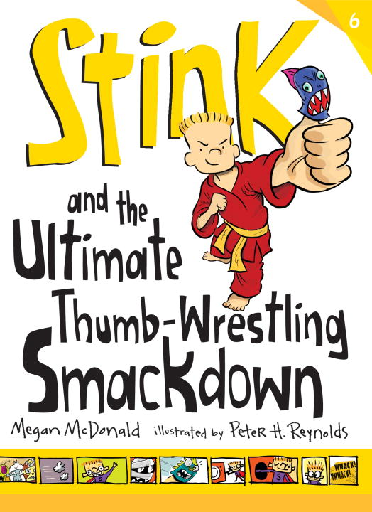 Megan Mcdonald Stink And The Ultimate Thumb Wrestling Smackdown