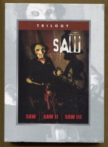 Saw Trilogy Saw 1 3 3 Disc Set