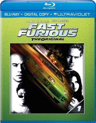 Fast & The Furious Diesel Walker Brewster Rodrigu Blu Ray Ws Pg13 Incl. Uv Dc