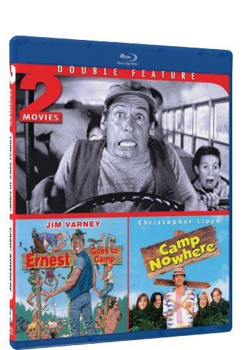 Ernest Goes To Camp Camp Nowhere Double Feature Blu Ray Pg