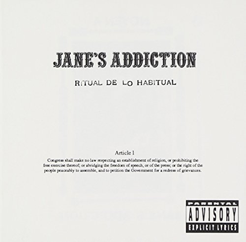 Jane's Addiction Ritual De Lo Habitual Clean Cover
