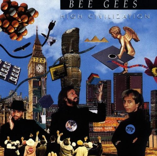 Bee Gees High Civilization Import Gbr