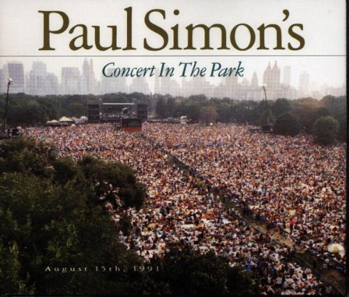 Paul Simon Concert In The Park 2 CD Set