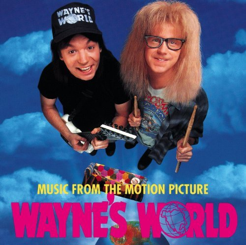 Wayne's World Soundtrack Wright Clapton Hendrix Cooper