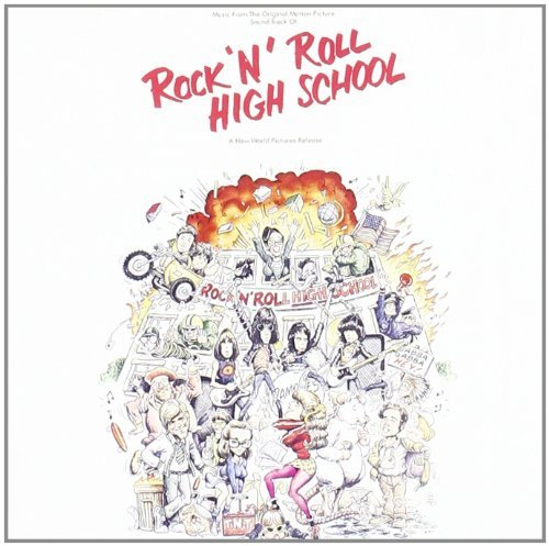 Ramones Rock N Roll High School Ost Import Swe