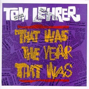 Tom Lehrer That Was The Year That Was