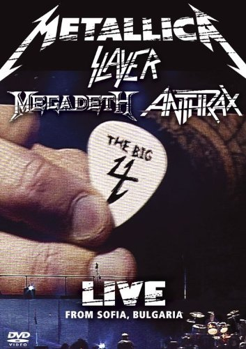 Big 4 Live From Sofia Bulgari Metallica Slayer Megadeth Anth 2 DVD