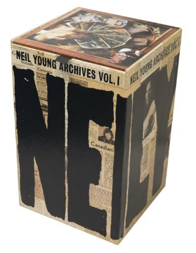 Neil Young Vol. 1 Archives (1963 1972) 10 DVD