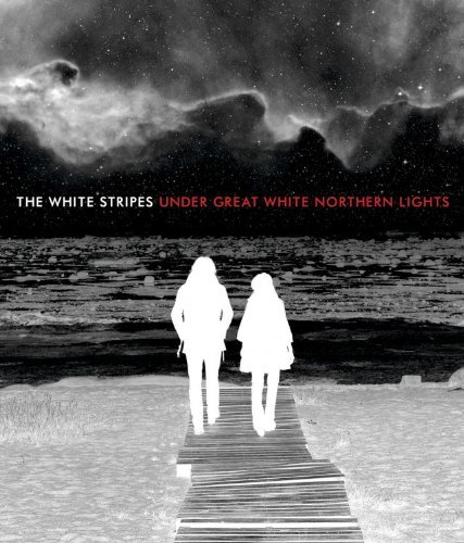 White Stripes Under Great White Northern Lig Super Jewel Case