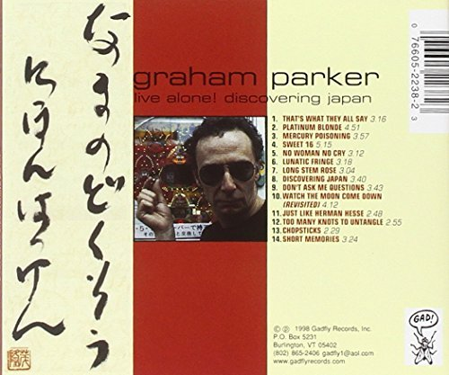 Graham Parker Live Alone Discovering Japan