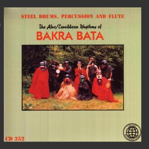 Afro Caribbean Rhythms Of Bakr Steel Drums Percussion & Flute