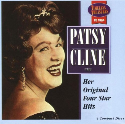 Patsy Cline Her Original Four Star Hits 4 CD Set