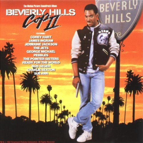 Beverly Hills Cop 2 Soundtrack Seger Sexton Hart Jets Jackson Pointer Sisters Ingram Michael