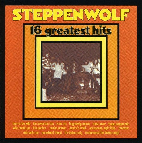 Steppenwolf 16 Greatest Hits Import Eu