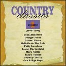 Country Classics Vol. 1 Country Classics Anderson Jones House Mcbride Loveless Cartwright Collie