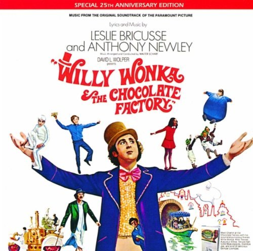 Willy Wonka & The Chocolate Fa Soundtrack Remastered 25th Anniversary Edition