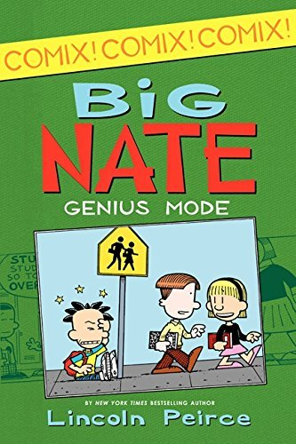 Lincoln Peirce Big Nate Genius Mode [with Poster]